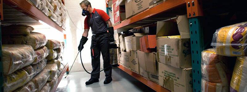 Нужна ли дезинфекция на продуктовом складе?