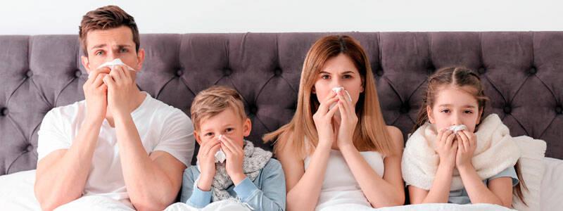 Все о дезинфекции помещений в сезон гриппа и ОРВИ